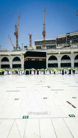 أداء آخر صلاة جمعة في المسجد الحرام بشهر رمضان المبارك