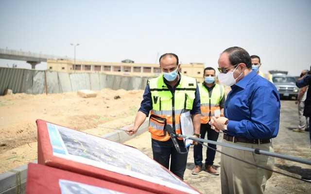 السيسي يتفقد أعمال تطوير المحاور والطرق الجديدة بمنطقة شرق القاهرة