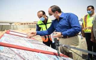 بالفيديو.تفاصيل حديث السيسي مع المواطنين وتفقد أعمال تطوير محاور وطرق شرق القاهرة