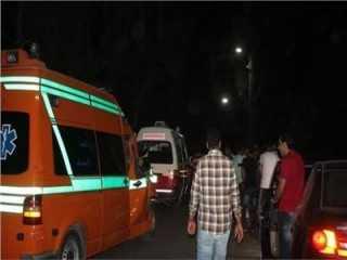 مصرع شخصين وإصابة 5 آخرين إثر اصطدام قطار بأتوبيس عمال بحلوان (صور)
