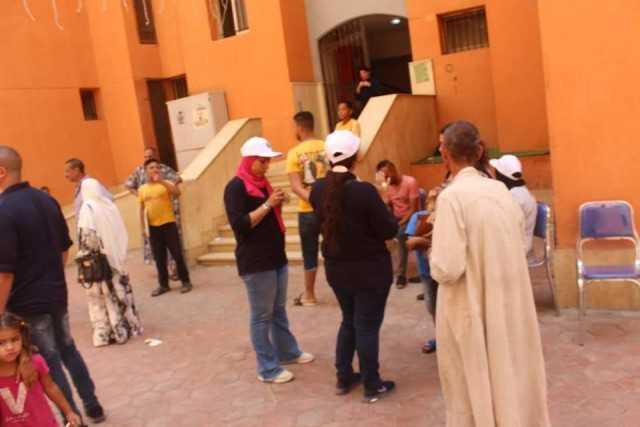 انطلاق حملة توعية لترشيد استهلاك المياه في حي الأسمرات