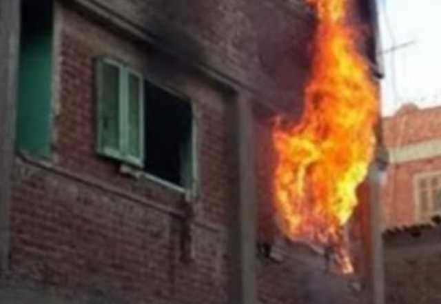 تفاصيل إخماد حريق في شقة سكنية بحلوان