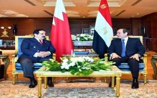 رسائل السيسي لملك البحرين ورءيس الحكومة الليبية تتصدر نشاط الرءيس اليوم