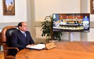 قضايا سد النهضة والإرهاب والشرق الأوسط تتصدر رسائل السيسي أمام الأمم المتحدة