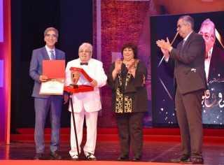 وزيرة الثقافة تطلق فعاليات الدورة 14 من القومي للمسرح