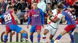 برشلونة يسقط أمام رايو فاليكانو بهدف